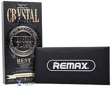 Защитное стекло Remax для iPhone 6 / 6S Plus Crystal ser.Full sc.2.5D + чехол Прозрачное / черный, фото 3