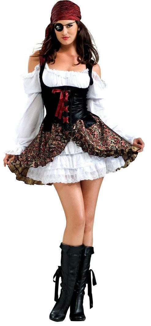 Женский карнавальный костюм Приратка