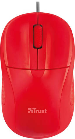 Мышка TRUST Primo Optical Compact Mouse Red, фото 2