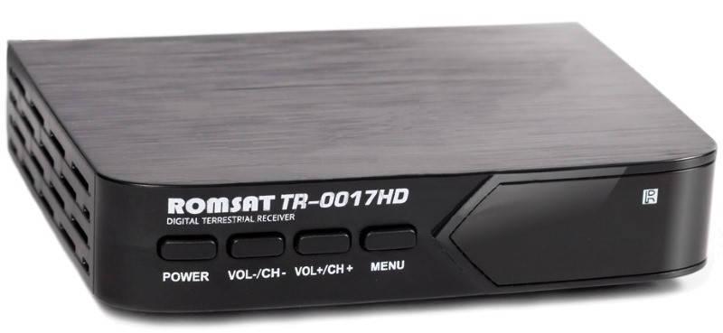 Цифрова приставка Rom-Sat TR-0017HD, фото 2