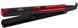 Выпрямитель (утюжок) для волос Monte MT-5150R Керамические пластины Черный/ Красный