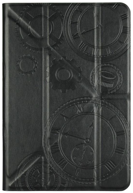 """Чохол-книжка Utty Y-case Pattern Універсальний 7-8"""" Годинник Чорний"""