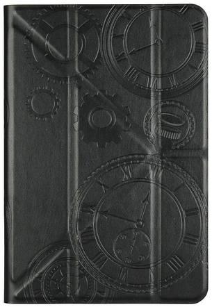 """Чохол-книжка Utty Y-case Pattern Універсальний 7-8"""" Годинник Чорний, фото 2"""