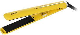 Выпрямитель (щипцы) для волос VITEK VT-2312 с терморегулятором Керамические пластины Желтый