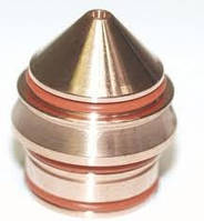 220406 Сопло/Nozzle 260 А SS/Al для Hypertherm HPR 130 Hypertherm HPR 260, фото 1