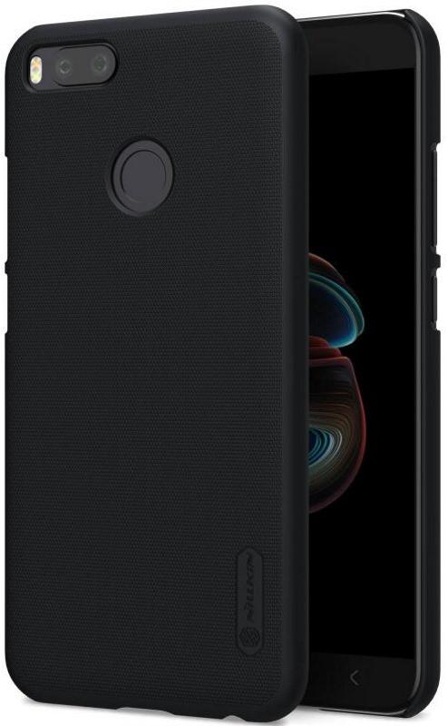 Чохол-накладка Nillkin для Xiaomi Mi A1 / Mi 5X Matte ser. +плівка Чорний