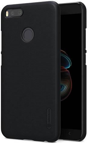 Чохол-накладка Nillkin для Xiaomi Mi A1 / Mi 5X Matte ser. +плівка Чорний, фото 2