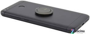 Тримач-кольцо Hoco PH7 LITTLE RING ser. Сірий (Metal Gray), фото 2
