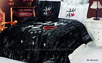 Постельное белье Le Vele сатин - Two Two black
