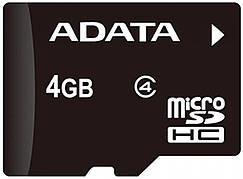 Карта пам'яті microSDHC ADATA 4GB class 4 +adapter SD (AUSDH4GCL4-RA1)