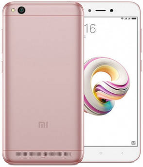 Смартфон Xiaomi Redmi 5A 2/16 Rose Gold, фото 2