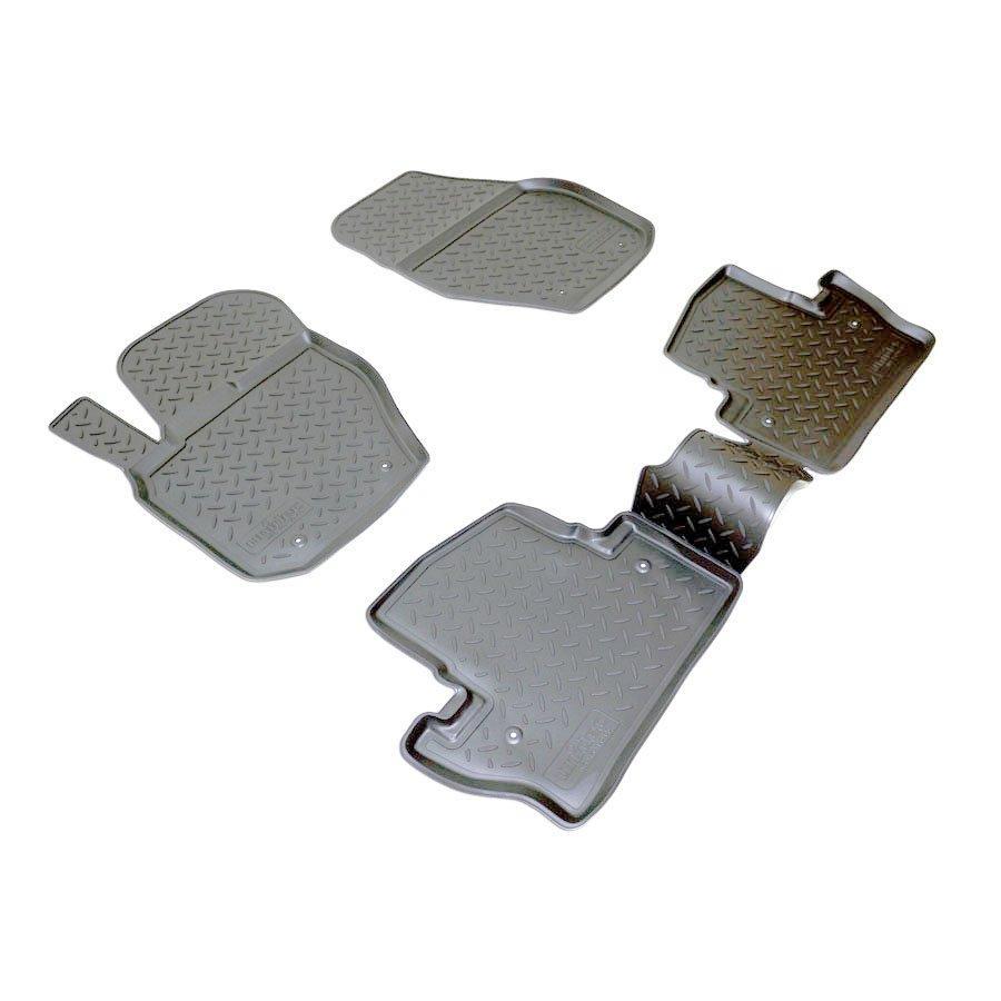 Коврики в салон для Volvo S60 (10-) (полиур., компл - 4шт) NPL-Po-96-65