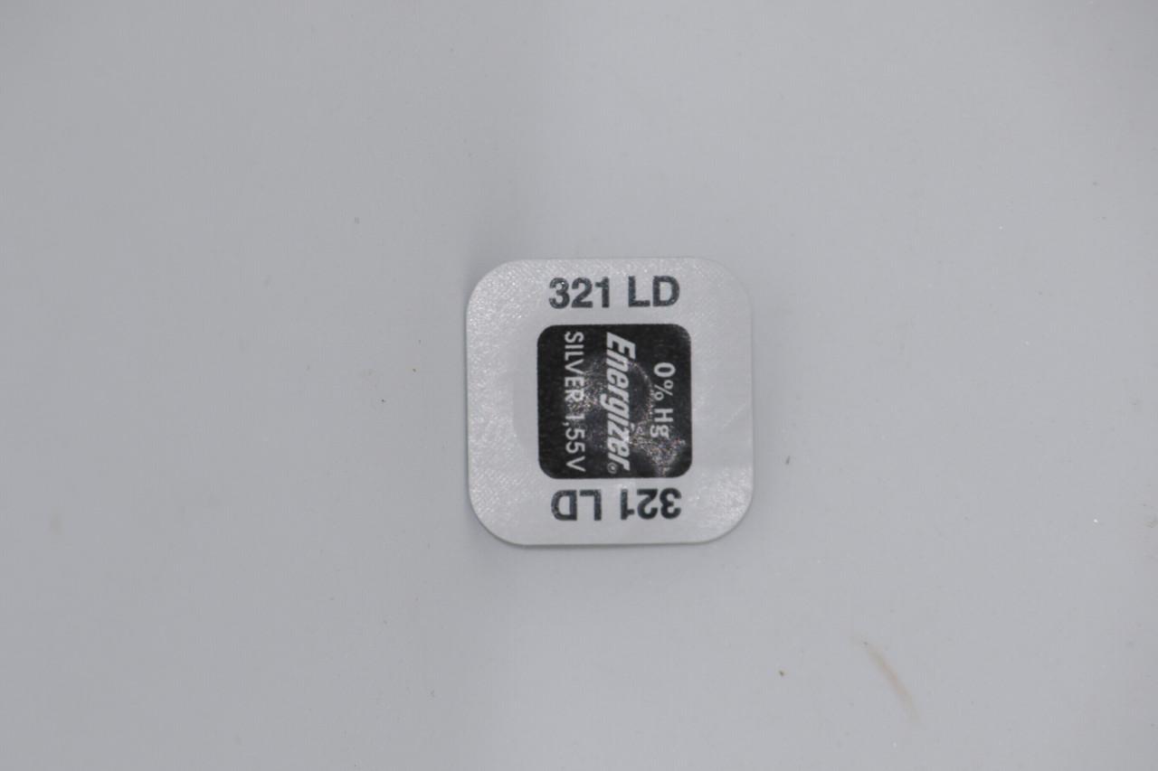 Батарейка для часов. Energizer SR616SW (321) 1.55V 16mAh 6.8x1,65mm. Серебрянно-цинковая