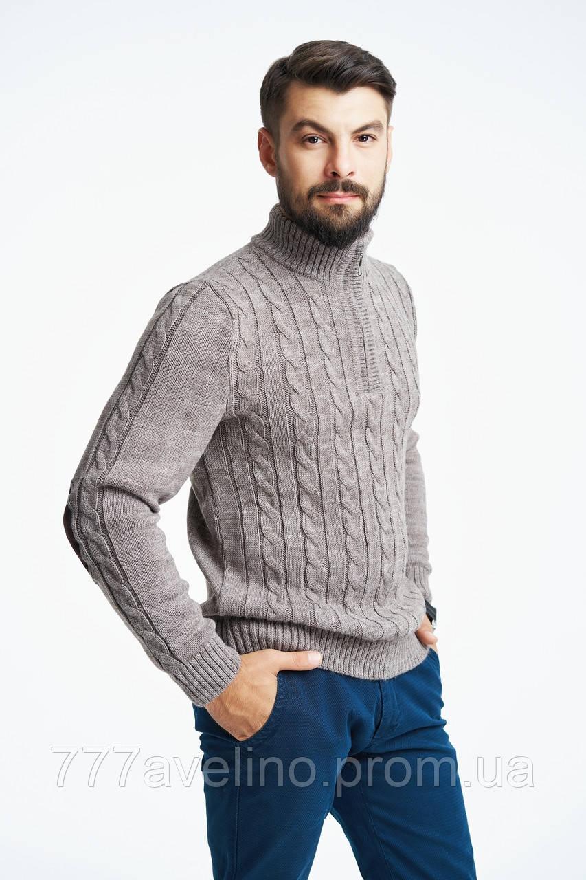 Теплий светр для чоловіків вовняний