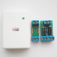 Комплект активных усилителей для передачи видеосигнала Twist-MINI