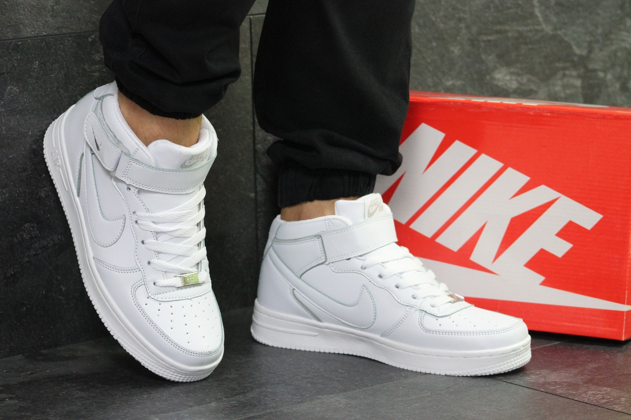 704e1642 Кроссовки мужские белые высокие Nike Air Force 6376 - Я в шоке!™ в  Хмельницком