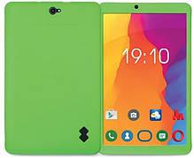 Чехол-накладка Nomi для Nomi C10103 Silicone Plain case Зеленый