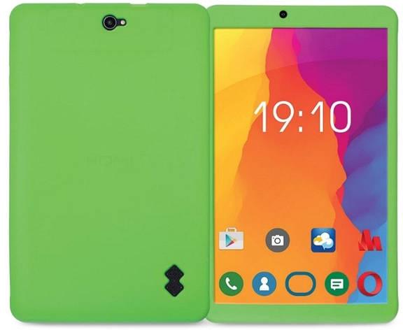 Чехол-накладка Nomi для Nomi C10103 Silicone Plain case Зеленый, фото 2