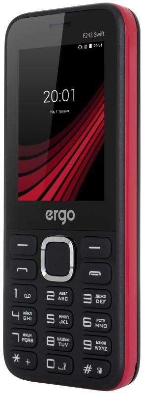 Мобільний телефон ERGO F243 Swift Dual Sim (чорний)