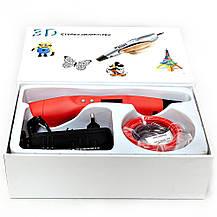 "R Набор ""SmartPen RP400A/200A DeLuxe"" c красной 3D ручкой, фото 2"