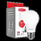 LED лампа MAXUS A65 12W теплый свет 220V E27 (1-LED-563-01), фото 2