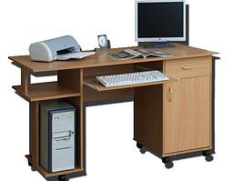 """Письменно-компьютерный стол """"СК-140""""(фасады)"""