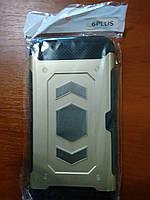 Чехол противоударный iPhone 6 plus (золото)