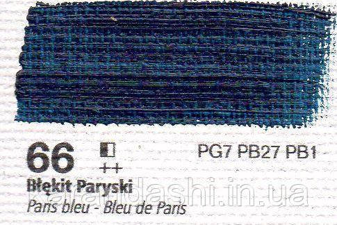 Масло RENESANS OILS FOR ART 66 Парижская синяя 20мл