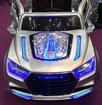 Детский Электромобиль Джип Audi Q9 j035 на аммортизаторах и радиоуправлении. Автопокраска! Надувные колеса!, фото 3