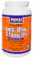 Лецитин в гранулах, Now Foods, Lecithin Granules, 910 gram
