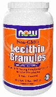 Лецитин в гранулах, Now Foods, Lecithin Granules, 910 gram