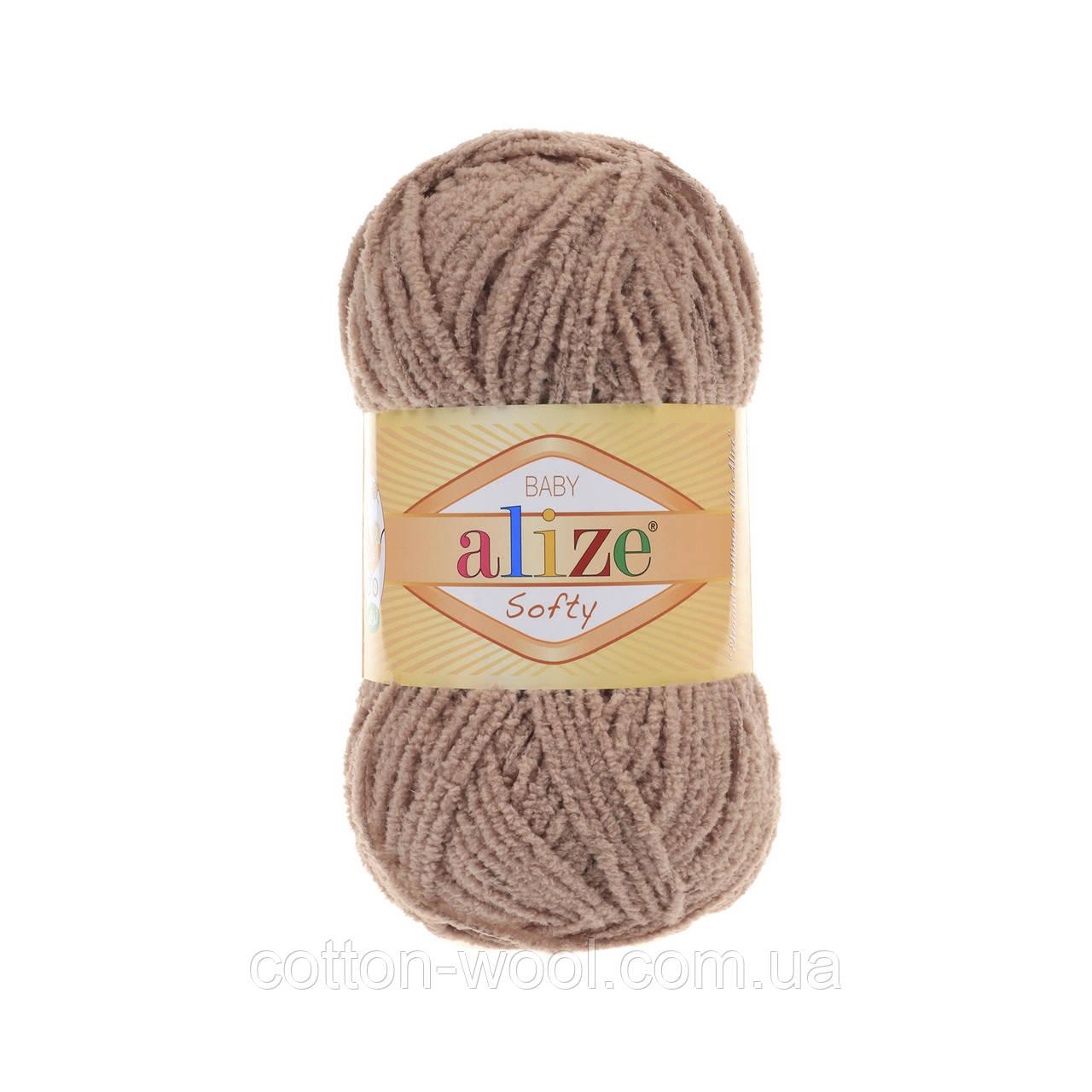 Alize Softy (Ализе Софти) 617 плюшевая пряжа
