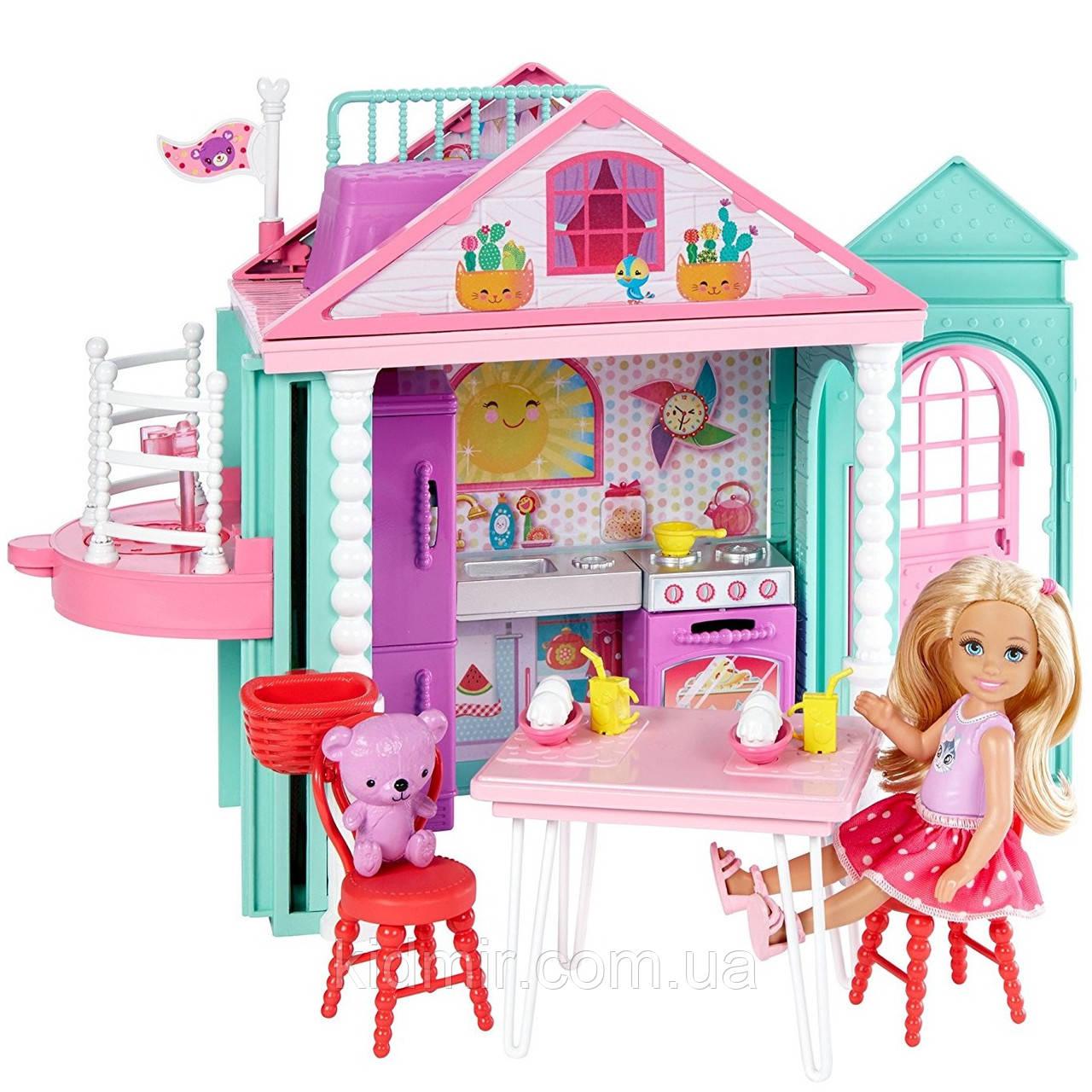 Барби клуб Челси Домик с лифтом Barbie Club Chelsea Clubhouse