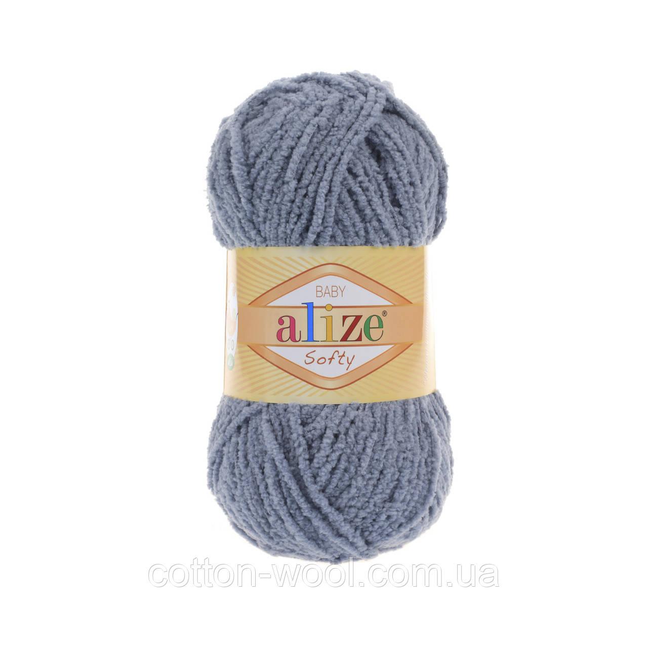 Alize Softy (Ализе Софти) 119 плюшевая пряжа