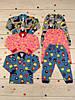 Детская трикотажная пижама (цветная начес)