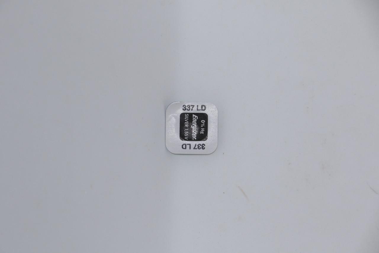 Батарейка для часов Energizer SR416SW (337) 1.55V 8,3mAh 4.8x1,65mm. Серебрянно-цинковая