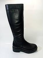 Женские кожаные сапоги евро зима ТМ Rovigo, фото 1