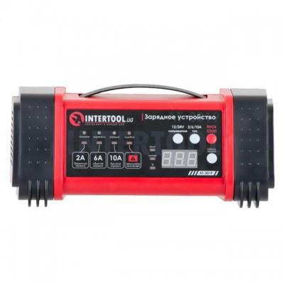 Зарядное устройство 12/24В, 2/6/10А, 2/6A, 230В, дисплей