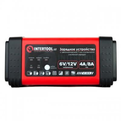Зарядное устройство 6/12В, 4/8A, 230В, LED-индикация