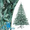 Новорічна блакитна лита штучна ялинка АЛЬПІЙСЬКА 250 см
