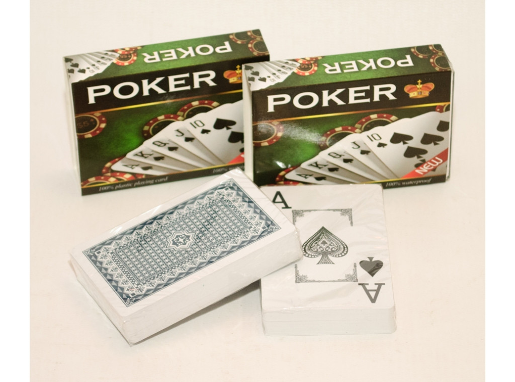 """Колода пластиковых карт """"Покер"""""""