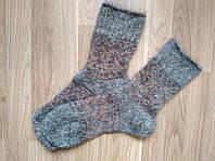 Женские носки из козьего пуха, теплые зимние носочки на резинке, фото 1