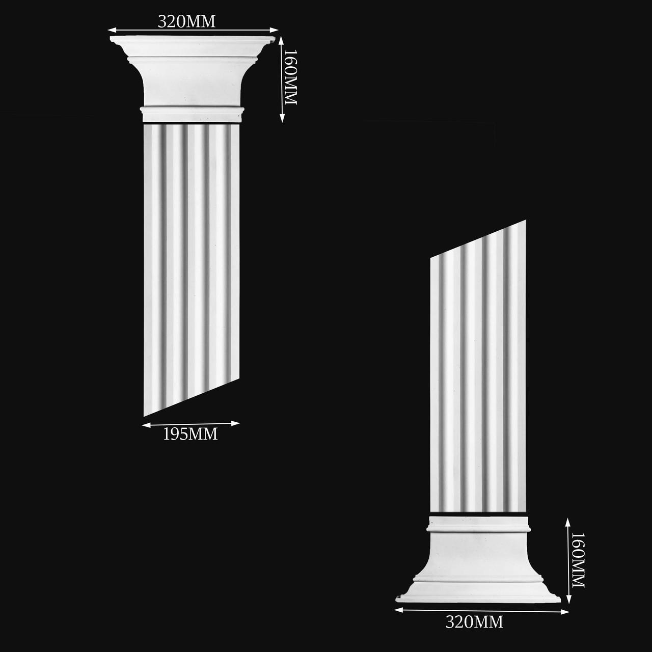 Гипсовая колонна П5