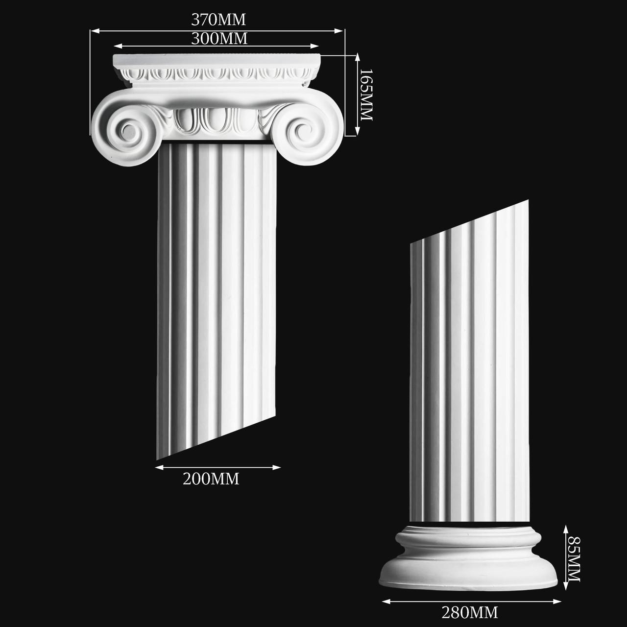 Гипсовая колонна КП10