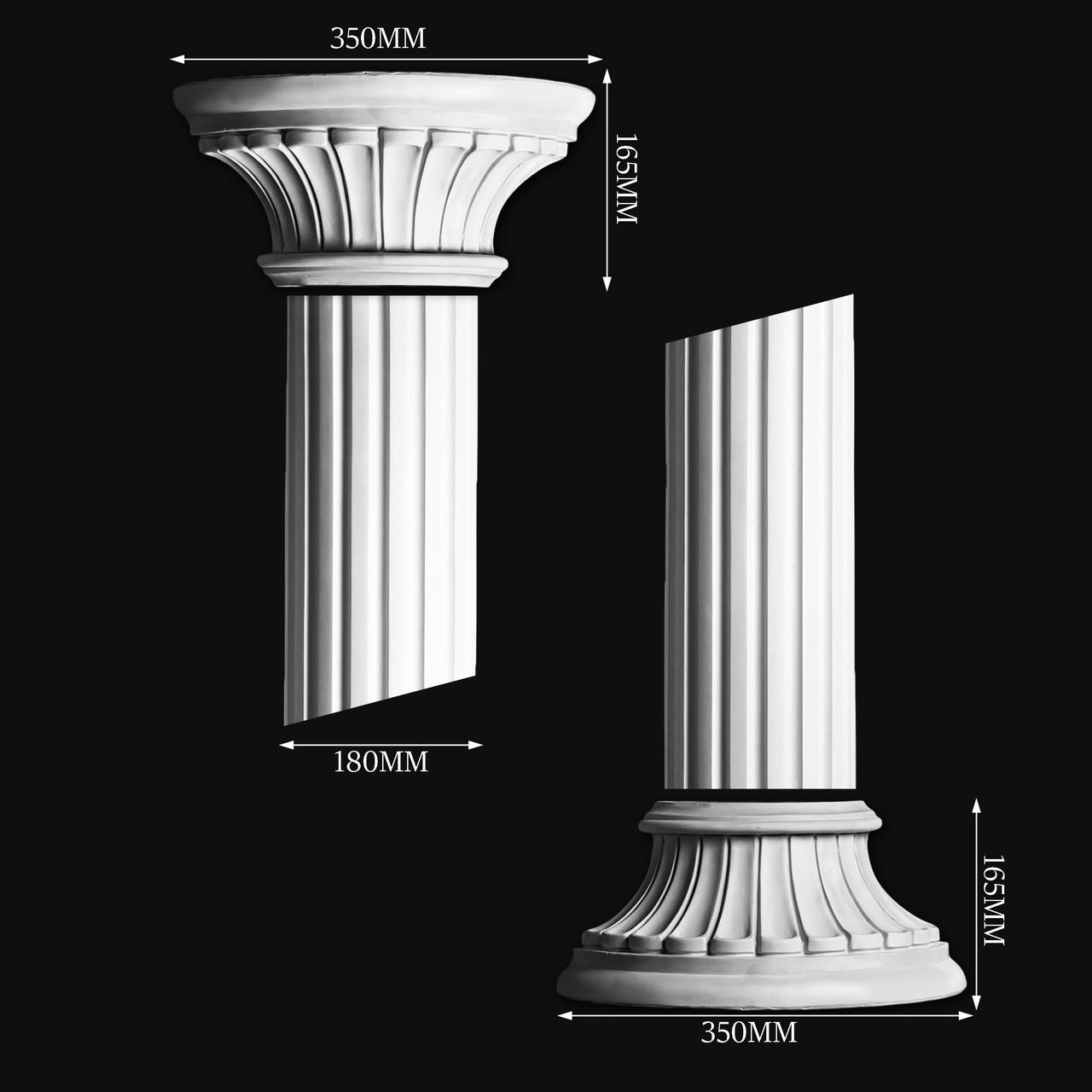 Гипсовая колонна КП3