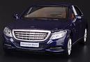 Машина металл Mercedes-benz S-klass 222 темно синий 1:32, фото 2