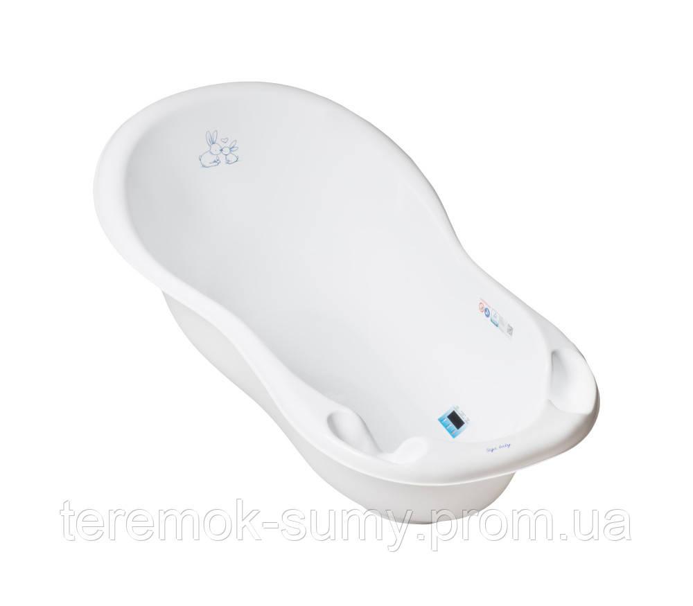 Ванночка Tega Little Bunnies KR-005 102 cm со сливом и термометром 103 white