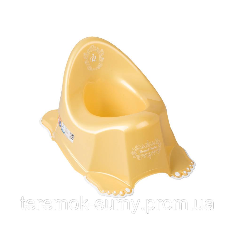Горшок Tega Royal Baby RL-001 нескользящий 110 gold