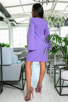 Женское Платье, цвет - Лаванда (141)701-1. (7 цветов), Ткань: креп. Размеры: 42, 44, 46, 48, 50, 52., фото 2
