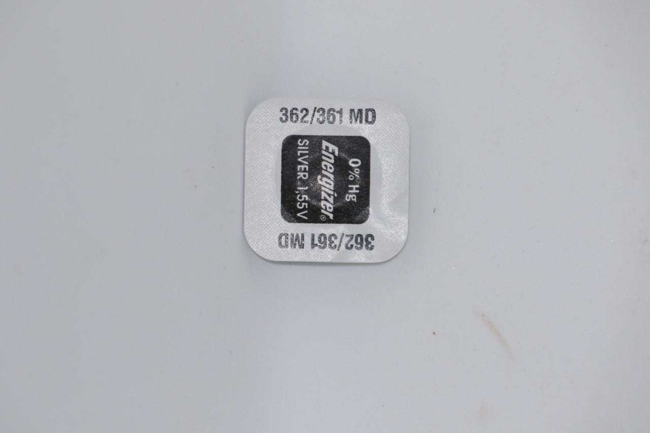 Батарейка для часов. EnergizerSR721SW (362)1.55v 25mAh 7,9x2.15mm. Серебрянно-цинковая